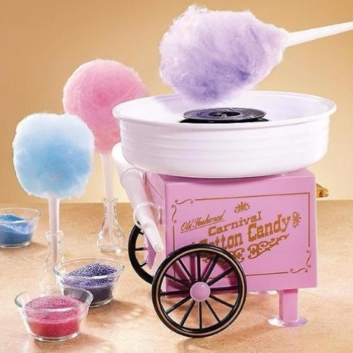 Аппарат для приготовления сахарной ваты дома-6722433