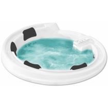 Акриловая ванна Gemy с гидромассажем (G9090 K White)