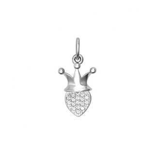 Серебряная подвеска с фианитом SOKOLOV 94031118
