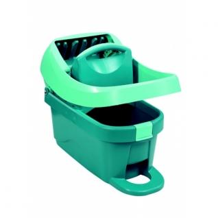 Ведро Leifheit Wiper Cover Press Profi для мытья полов с отжимом, на колёсиках 8 л