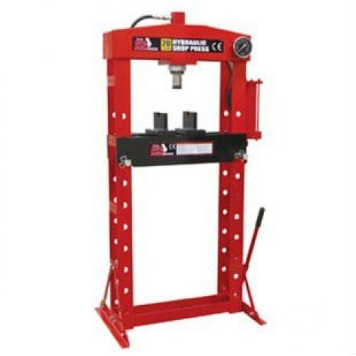 Пресс гидравлический 20т с манометром (ход поршня 190мм,диапазон работ 54-1044мм) Big Red-6004246