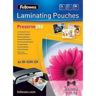 Fellowes Fellowes Пленка для ламинирования FS-54018 (А4, 250 мкм, 100 шт.)