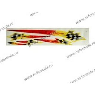 Наклейка брызги Fenix 9х50см-432603