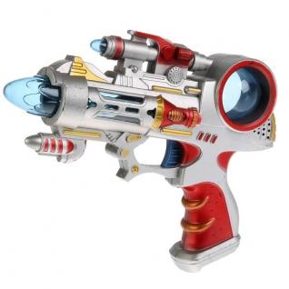 Пистолет На Бат. Свет+Звук 22*23*5см В Пак. (Русс. Уп.)-37792500