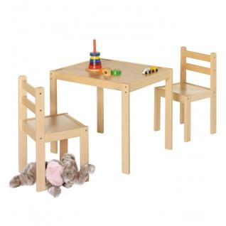 Комплект мебели Geuther Комплект игровой мебели Kalle&Co: стол и 2 стула (цвет натуральный)