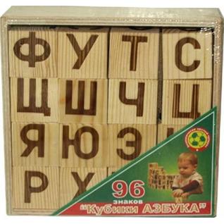 """Деревянные кубики """"Азбука"""", 16 шт. Престиж-37744382"""