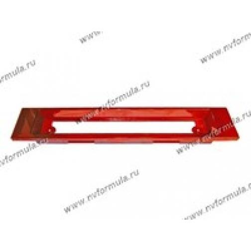 Рамка катафот заднего номерного знака 21099 вид2 красная-431285