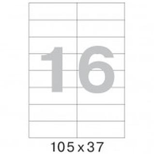 Этикетки самоклеящиеся Office Label 105х37 мм/16 шт. на лист.А4 (100 ли
