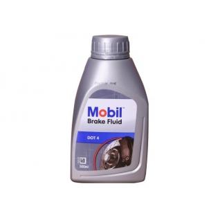 Тормозная жидкость MOBIL BrakeFluid DOT 4, 0.5 литра-5927377