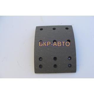 Накладка тормозной колодки СЗАП вал L1 А0815 ось 8 тонн-2174668