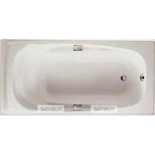 Чугунная ванна Jacob Delafon Repos 180x85, с ручками-38015811