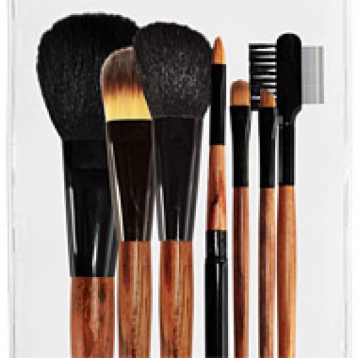 Профессиональные кисти для макияжа - Набор JEANS универсальный из 7 кистей для макияжа 7-05-2147893