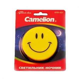 """Camelion Светильник-ночник Camelion серия """"Лунный свет"""" Улыбка XYD-431"""