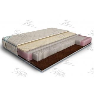 матрас дрема микропакет комби латекс memory foam-6692716