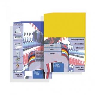 Обложки цветной пластик ProfiOffice, А4, черный-399029