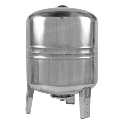 Гидроаккумулятор 100л (вертикальный) нержавеющая сталь, Unipump UNIPUMP 100312