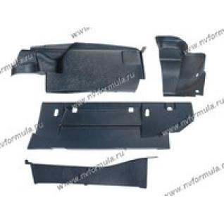 Обшивка багажника 2103,06 пластик 4части Сызрань-422529