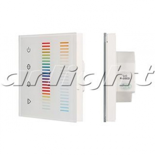 Arlight Панель Sens SR-2834-5C-AC-RF-IN White (220V,RGB+CCT,1 зона) 9055181 2