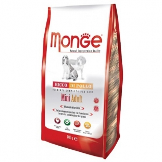 Monge Monge Dog Mini корм для взрослых собак мелких пород 800 г