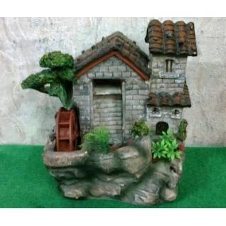 Декоративный фонтан | Настольный для дома | Домик 28-5254962