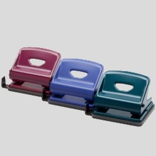 Дырокол Office Force F Medium,пурпурн,мет.корп,25л,2отв d.6мм-6817230