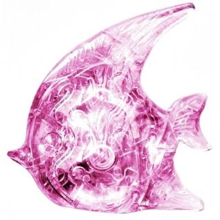 """3D-головоломка """"Рыбка"""", розовая, 19 элементов Ice Puzzle-37711594"""