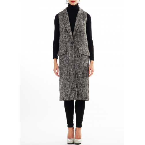женская одежда FluffyAnn Moscow Пальто-жилет FluffyAnn Артикул FA025-5927702