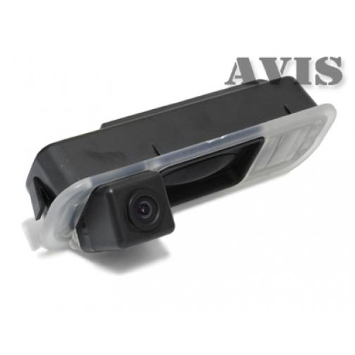 CCD штатная камера заднего вида AVIS AVS321CPR для FORD FOCUS III (2011-...) (#015), интегрированная с ручкой багажника Avis-832882