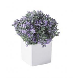 Искусственный цветок GRASS фиолетовый-7170149
