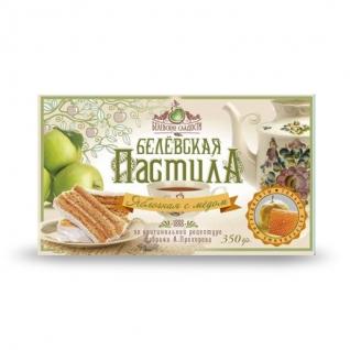 Пастила Белёвская с медом, 350 г, коробка
