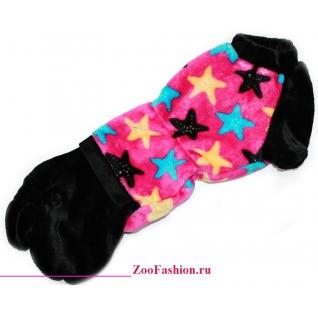 """Одежда для таксы. Комбинезон """"Color Stars"""" девочка. (48-50см)-771932"""
