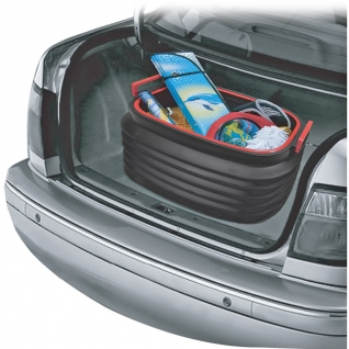 Органайзер в багажник автомобиля Autolux A15-1503-C (50х34х12~30 см, складываемый пластиковый)