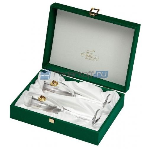 Набор бокалов для шампанского «За Россию»-763317