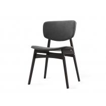 Мягкий стул SID Тёмная берёза + кофейный