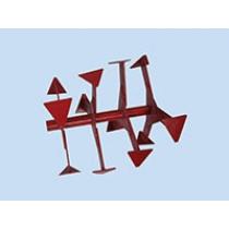 Фреза-культиватор (ГС) ФР.40.000.1 МБ-1 ОКА,УГРА,наруж.д-420мм;шир.-800мм;глуб-170-190мм;масса-14кг