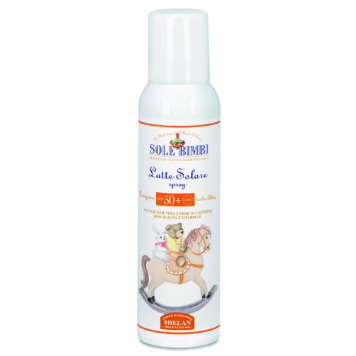 Молочко Helan Солнцезащитное молочко-спрей Helan (с высоким фактором защиты SPF 50+)-2035833