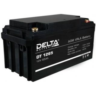 Аккумулятор для ИБП DELTA Delta DT 1265 А универсальная полярность 65 А/ч (350x167x179)