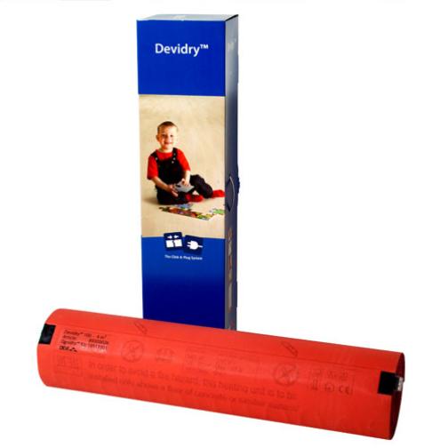 Нагревательный мат Devi, Devidry 100, 4 кв.м-6672629