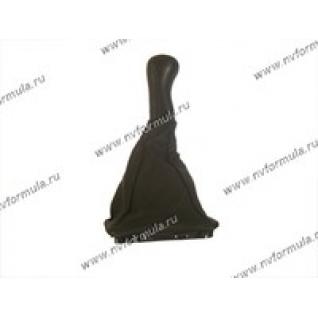 Ручка КПП 2170 Priora кожа+чехол-431213
