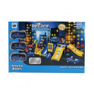 Игровой набор Super Garage - Полиция Shantou-37719410