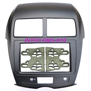 Переходная рамка Intro RMS-N16 для Mitsubishi ASX 2DIN (крепеж) Intro-834883