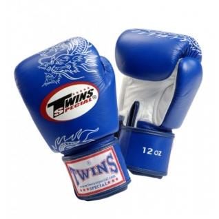 Twins Special Боксерские перчатки Twins FBGV-6S, 8 унций, Синий