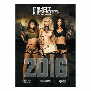 Made in Germany Календарь Hot Shots Calendar 2016-5034766
