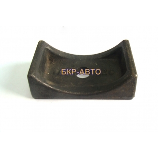 Подушка (подкладка) рессоры СЗАП приварная на балку 8543-2410024