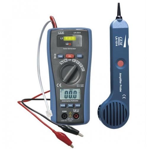 Тестер-мультиметр для поиска скрытой проводки СЕМ LA-1014-6766264