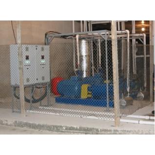 Системы отопления для птицеферм, насос - теплогенератор НТГ-075-465060