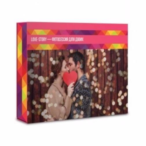 """Подарочный сертификат """"LOVE-STORY – фотосессия для двоих""""-6721140"""