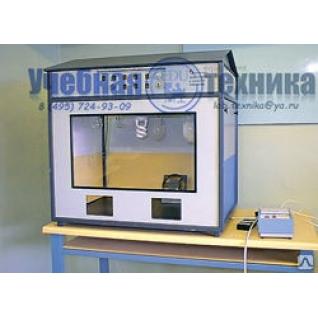 Лабораторная  установка «Эффективность и качество освещения» БЖ 1м