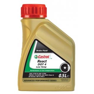 Тормозная жидкость CASTROL Low Temp DOT 4 0,5 литра-5926627