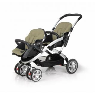 Аксессуары CASUALPLAY SEAT-PAD STWINNER S4 GREEN (матрасик для коляски)-37651237